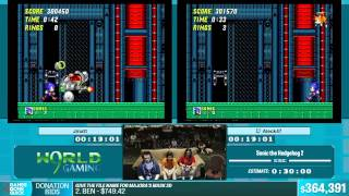 Sonic the Hedgehog 2 by Aleck47, Jmatt in 24:37 - Summer Games Done Quick 2015 - Part 80