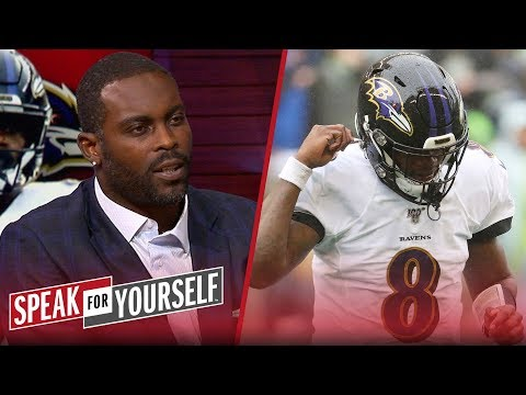 'I was in awe' watching Lamar Jackson against the Seahawks — Michael Vick | NFL | SPEAK FOR YOURSELF