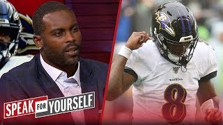 'I was in awe' watching Lamar Jackson against the Seahawks - Michael Vick | NFL | SPEAK FOR YOURSELF