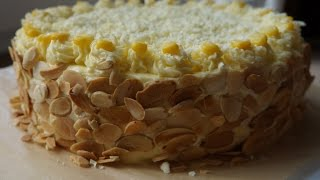 How to make Corn cream cake - Bánh kem bắp