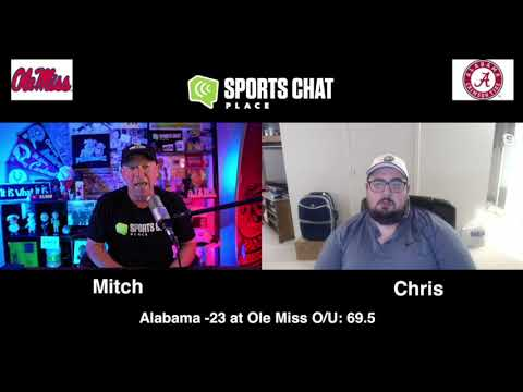 Alabama at Ole Miss College Football Picks & Prediction Saturday 10/10/20 Sports Chat Place