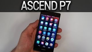 Huawei Ascend P7, déballage et prise en main - par Test-Mobile.fr