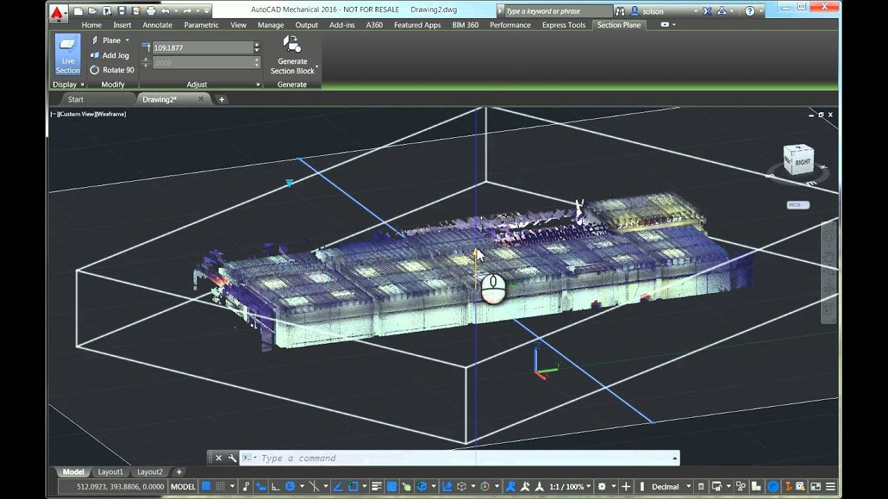 Working with Point Clouds in AutoCAD