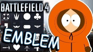 Battlefield 4. Emblem. Guide how to create Kenny emblem!