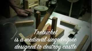 Ccws Trebuchet .25 Scale Model.