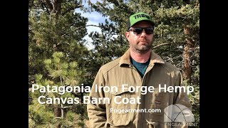 Patagonia Iron Forge Hemp Canvas Barn Coat Review