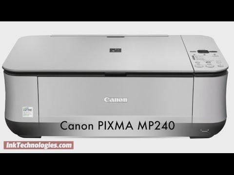 canon pixma mp240 instructional video youtube rh youtube com stampante canon pixma mp240 manuale canon pixma mp240 notice