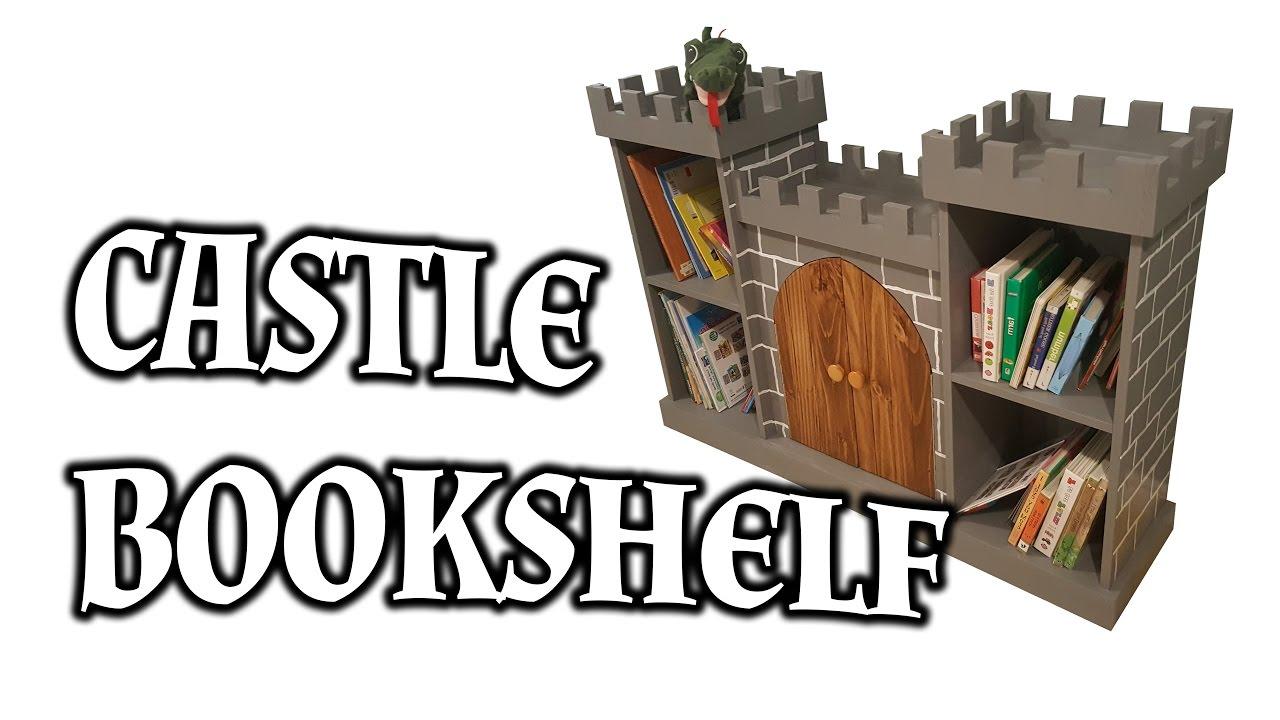How To Build A Castle Bookshelf
