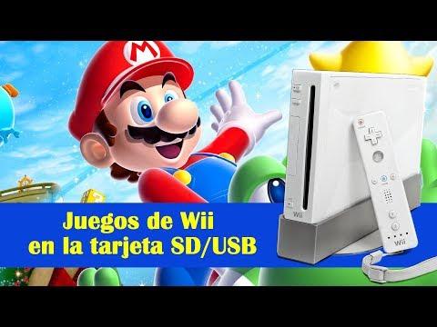 Tutorial  Wii  Instalar y cargar juegos desde SD y USB