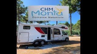Wohnmobil-Camping-Urlaub in Frankreich am Atlantik - CHM Monta