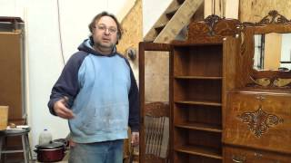 Refinishing A Quarter Sawn Oak Secretary Oak  Timeless Arts Refinishing