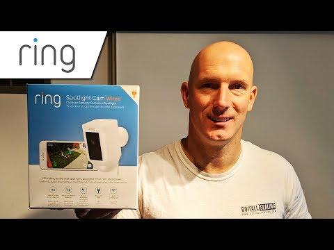 ring-spotlight-security-camera-(wired)-full-setup-&-installation