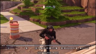 Fortnite What The Fu#ks pt.1 Clinger Grenade Kill!!! IT GLITCHED!!!