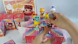 팝마트코리아 몰리 어린시절 시리즈 개봉 popmart …