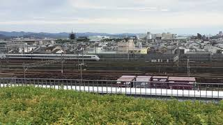683系 特急サンダーバード 大阪行き 223系2000番台+223系2000番台 普通 大阪方面行き 京都鉄道博物館より