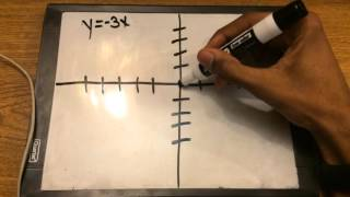 Graphing Linear Equations With no Y intercept