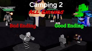 ROBLOX Camping 2 | All 4 Endings