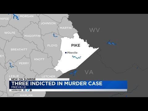 Three Indicted In Pike County Murder