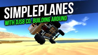 Messin' around with 4x4 suspension | Simpleplanes w/DJS8 Corp