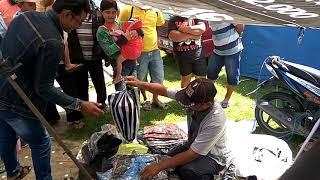 Obral Baju Murah di Pasar Legen Bonyokan, Jatinom, Klaten