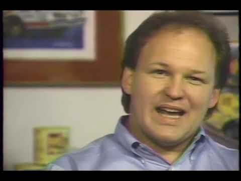 NASCAR Artist, Sam Bass 1992 Interview