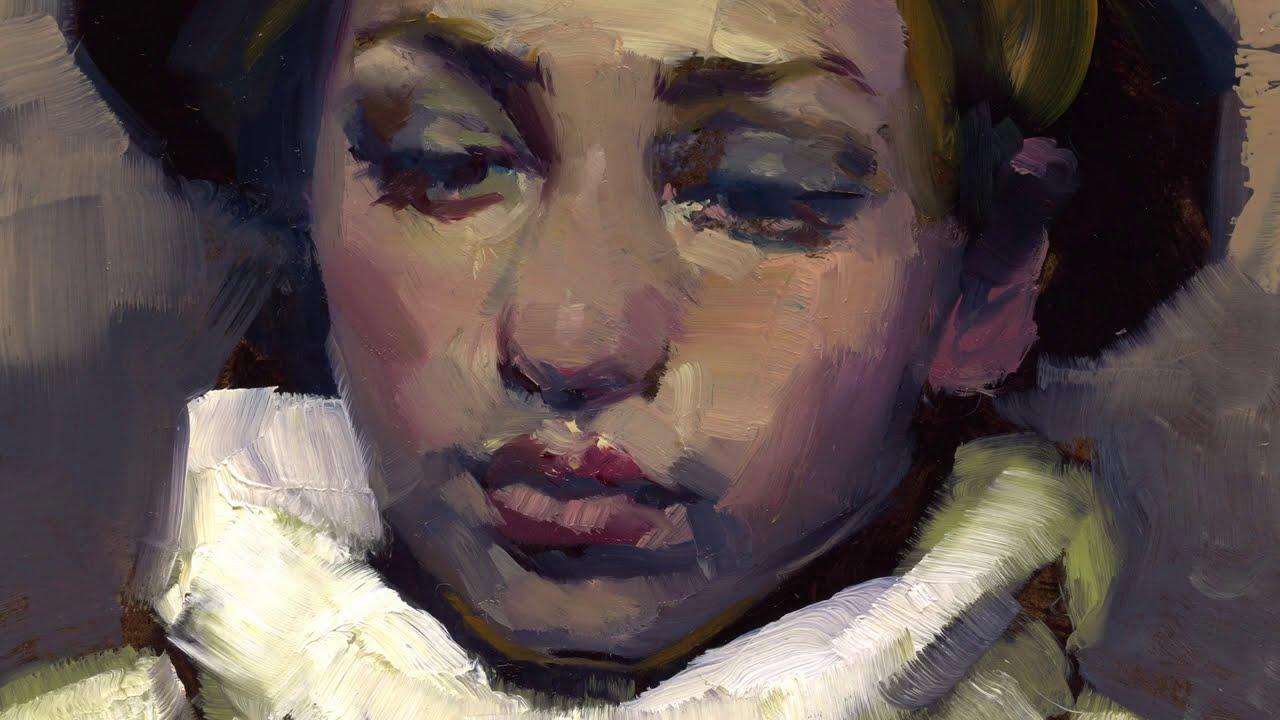 Turtleneck Painting Time-Lapse