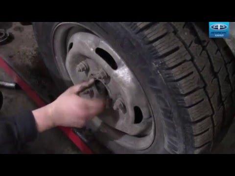 Замена подшипников ступиц форд транзит