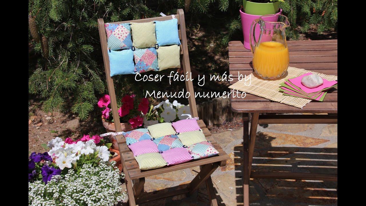 C mo hacer un coj n original con retales youtube for Hacer cojines para sillas