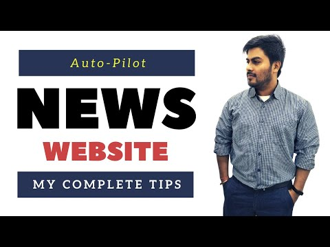 Automated NEWS Website Full Setup With Monetization | Digital Markeitng | Roy Digital