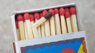 4 Awesome Tricks with Matches