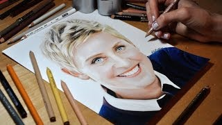 Drawing Ellen DeGeneres