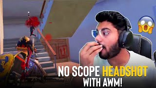 NO SCOPE HEADSHOT with AWM in APARTMENTS! 😱|| PUBG MOBILE FUNNY HIGHLGIHTS! - H¥DRA ALPHA