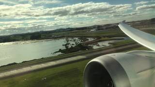 Air New Zealand 787-9 Takeoff from Auckland