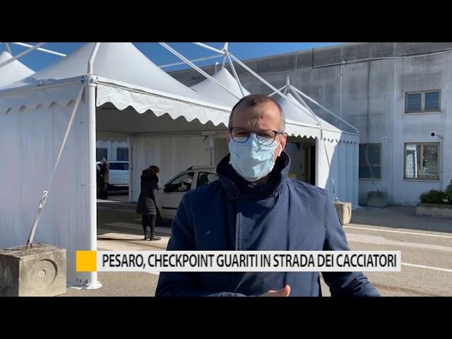 Pesaro, checkpoint guariti in strada dei cacciatori