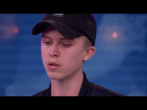 Noah Gerstenfeld - Mark My Words av Justin Bieber (hela Idol-audition 2017) - Idol Sverige (TV4)