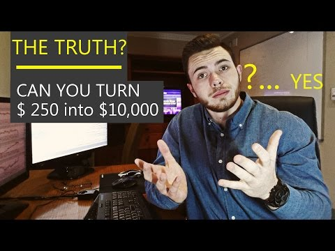 can I turn $ 250 into $ 10,000? | Forex, Derivatives trading put to the test