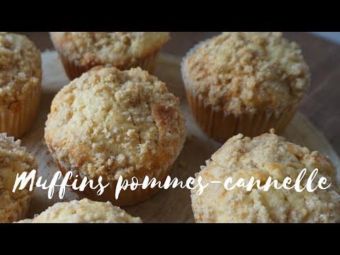 muffins-pommes-cannelle-&-crumble---moelleux-et-croustillants