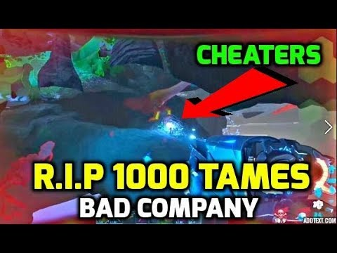 WE GOT WIPED BY CHEATERS, THE FALL OF BAD COMPANY... RIP 1000 TAMES.. - Official PvP - Ark Survival