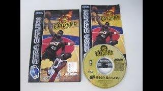 Sega Saturn - NBA Jam Extreme - Game Play