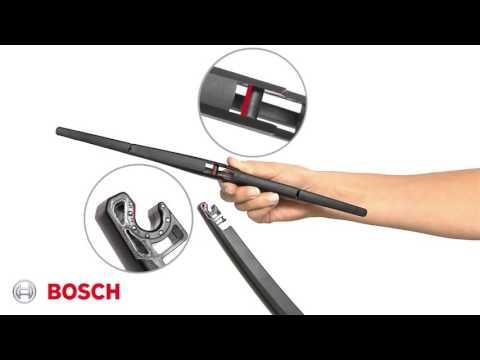 Hvordan monterer jeg en Bosch visker