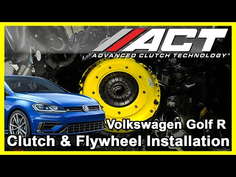 ACT Clutch Install:  2015 – 2017 Volkswagen Golf R and Golf GTI