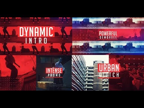 Urban Glitch Promo - After Effects template - 동영상