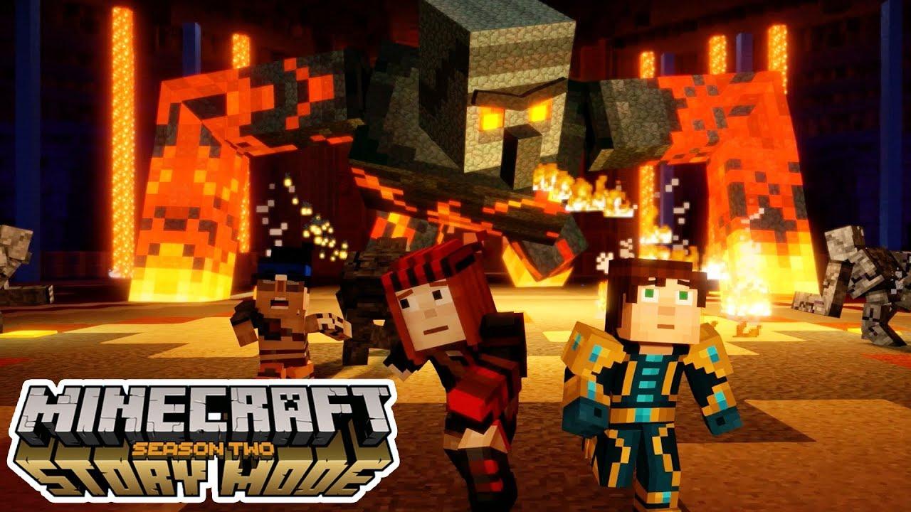 giant magma golem minecraft story mode season 2 episode 4 3