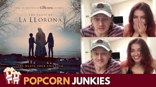 The Curse of La Llorona (Teaser Trailer) - Nadia Sawalha & Family Reaction