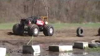monster truck back flip      !!!!!!