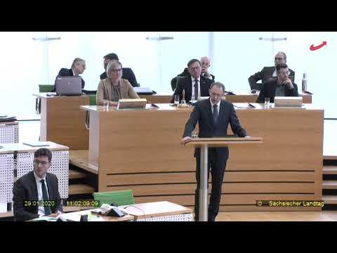 Jörg Urban AfD zur Regierungserklärung von CDU-Ministerpräsident Michael Kretschmer