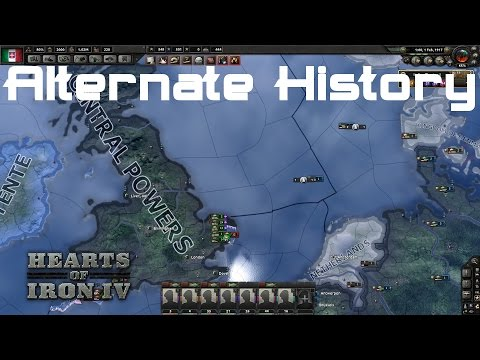 WW1 Alternate History - Italy Joins the Central Powers