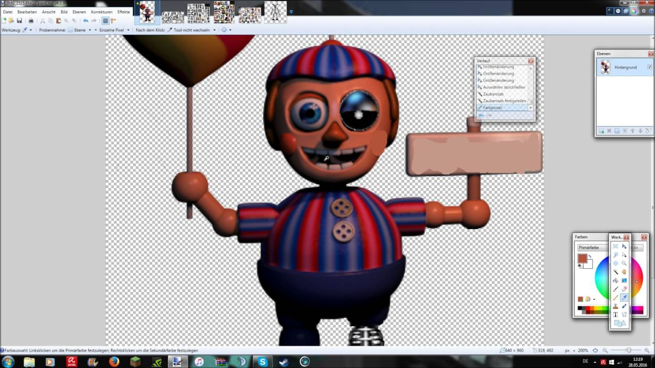 [FNaF speed edit]Withered Baloon Boy