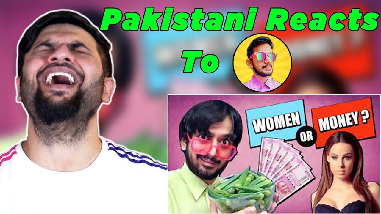 Pakistani Reacts to Saiman Says   WOMEN or MONEY ??? Would you rather   Bhendi challenge
