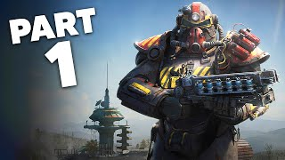 FALLOUT 76 WASTELANDERS Gameplay Walkthrough Part 1 - FALLOUT 76 IS NOW GOOD ???
